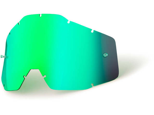 100% Replacement Lenses Youth green / mirror